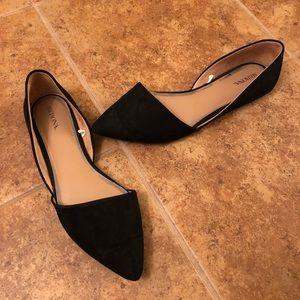 Black Merona flats. Size 8 1/2.